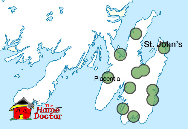 Dish Internet Packages >> Newfoundland Service Area Map